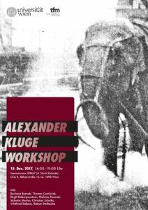 Alexander Kluge Workshop 2017