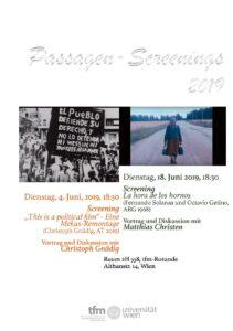 Passagen-Screenings 2019