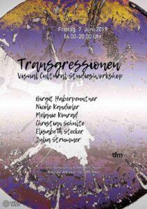 Transgressionen. Visual Cultural Studies Workshop