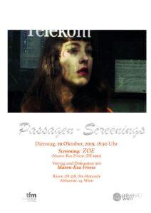 Passagen-Screenings 2019: ZOE